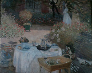 OLD MASTERS.Claude Monet - The Lunch(1873). GICLEE PRINT