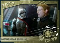 Star Wars Card Trader Digital Rise of the First Order Captain Phasma & Hux 99cc