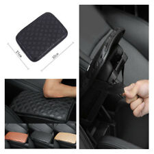 Leather + Sponge Car Armrests Cover Anti-damage Wear Resistant Smooth Dust-proof