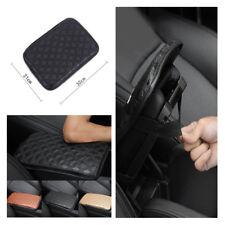 Leather + Sponge Car Armrests Cover Anti-damage Wear Resistant Smooth Dust-proof