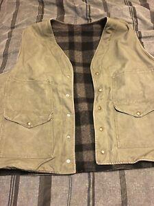 Olive XXL Filson Vest