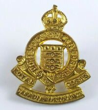 WW2 Royal Canadian Ordnance Corps Badge - 2 Lugs to Rear