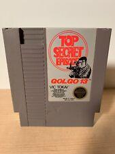 Golgo 13: Top Secret Episode (Nintendo Entertainment System, 1988) NES Cleaned