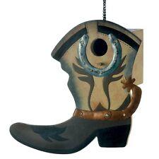 Western Boot Birdhouse 13906 Smc 50% Off $7.47