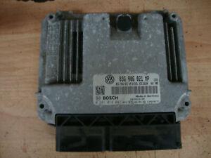 2008 VW VOLKSWAGEN TOURAN 2.0 TDI DIESEL ECU 03G906021 MP 0281014041
