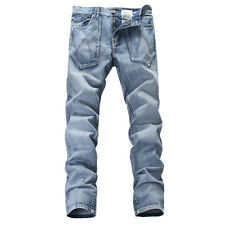 075b802b2292 NEW MENS FOXJEANS 100% COTTON MEN S BLUE DENIM JEANS SIZE 38