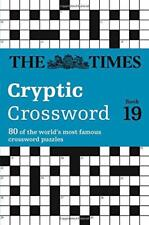 The Times Cryptic Crossword Book 19 by Browne, Richard, The Times Mind Games | P
