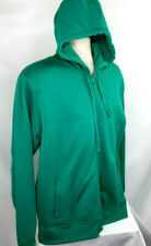 Oakley Hoodie, Mens L, Full Zip, Emerald Green, Euc
