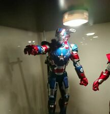 Hot Toys Iron Man 3 Iron Patriot 1/6 Scale Limited Edition Diecast Figure