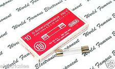 1pcs - ELU / SIBA  (F) 6.3A (6,3A)  250V 6.3x32mm Glass Fuse - For Audio