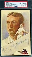 Cy Young PSA DNA Coa Autograph Hand Signed Perez Steele Cut Postcard