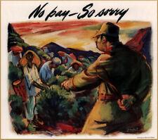 1943 Cutler Hammer Japanese Slaves Whip Coolies Giesbert Art Print Ad