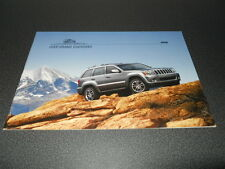 JEEP Grand CHEROKEE brochure catalogue documentation gamme 09/2007 Suisse