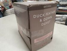 John Lewis & Partners Natural Duck Feather and Down Duvet KING 10.5 Tog