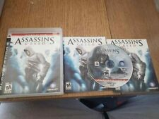 Assassin's Creed (Sony PlayStation 3, 2007) Complete CIB PS3