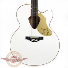 Gretsch G5022CWFE-12 Rancher Falcon Acoustic Electric 12-String White Demo