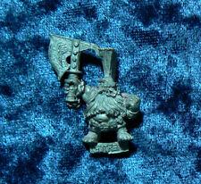 Warhammer Fantasy Gotrek Gurnisson Dwarf Metal OOP