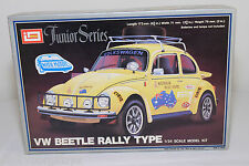 IMAI KIT B-1323 B1323 VW VOLKSWAGEN BEETLE KAFER RALLY TYPE YELLOW MINT BOXED