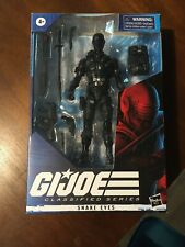 G.I. Joe Classified Series  Snake Eyes Action Figure Used In Box Storm Shadow