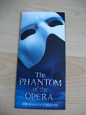 **The Phantom of The Opera Flyer at Her Majesty's Theatre London Opens as 3**