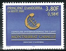 ANDORRA FRANCESA 2000 527 CONCURS INTERNACIONAL DE CANT MONTSERRAT CABALLÉ 1v.