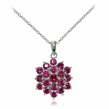 Ruby Simulated Fine Necklaces & Pendants