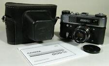 Fed 5C soviet LEICA RF+Industar 61 L/D lense 2.8/55 mm + manual # 005475