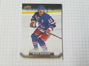 2015-16 Upper Deck UD Canvas Mark Messier Retired Stars Mark Messier New York
