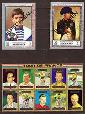 Charles DE GAULLE jeune, NAPOLEON ,10 vainqueurs tour de France  A545C2