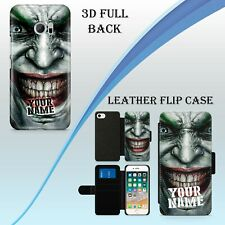 Realistic Scary Villein Villan Bad Joke Joker's Face Mobile Phone Case Cover
