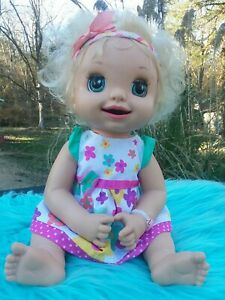 Baby Alive Learn To Potty HTF 2007 Soft Faced Doll
