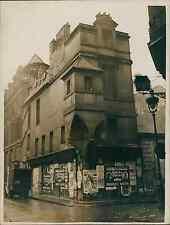 Paris, hôtel Lamoignon, rue Pavée Vintage silver print Tirage argentique