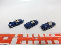 CA447-0,5# 3x Wiking 1:87/H0 PKW-Modell Jaguar-Sport 20, sehr gut