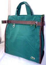 Lacoste Green Medium Shopping Bag Shopper Tote