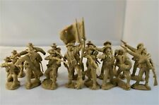 Toy Soldiers of San Diego Tssd Confederate Infantry Butternut Set 1B Civil War
