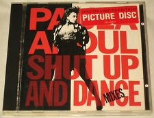 PAULA ABDUL - CD - SHUT UP AND DANCE - RARE AUSSIE PICTURE DISC