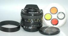 Canon Sigma 16mm f2.8 manual focus Fisheye lens in Canon FD mount - Nice Mint-!