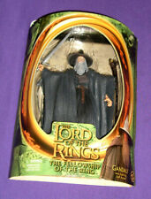 Gandalf Action Figure (Toy Biz 2001 Lord of The Rings) Light Staff, Opened Card