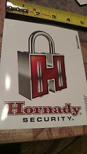 Hornady Security Sticker Decal Sporting Hunting Shoot Rifle OEM Original