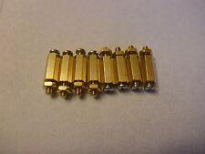 Male to Female Standoffs for Raspberry Pi M2.5 x 11mm + 5mm Brass Hexagon