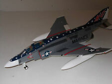 "1:48 F-4 Phantom II US Marines - VMFA321 "" Hells Angels "" - aus Metall.  RAR !!!"