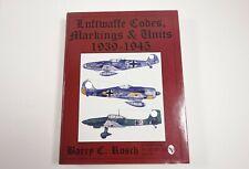 Luftwaffe Codes, Markings & Units 1939-1945 by Barry C. Rosch @ Schiffer Books
