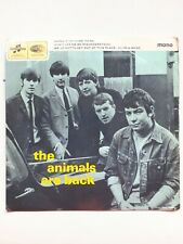 The Animals The Animals Are Back 7-in Vinyl Record EP