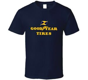 Vtg Style Goodyear Tires Famous Trusted Brand Icons Fan T Shirt