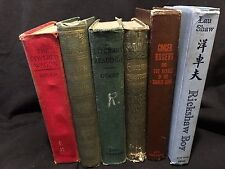 LOT 6 VINTAGE BOOKS HC Ginger Rogers, Green Mansions, English Literature, etc.
