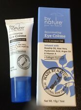 By Nature Rejuvenating Eye Cream With Coconut Oil 15g-Aloe,Argan Oil,Vitamin A +