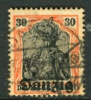 GERMANY;  DANZIG 1920 ( June ) Optd. issue fine used 30pf. value