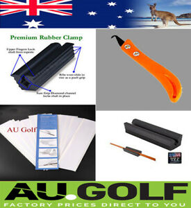 GOLF REPAIR REGRIP KIT- Re Grip Kit - Clamp - Knife - 15 pieces 26 cm Grip Tape