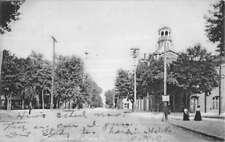 Carlisle Pennsylvania Main Street Scene Antique Postcard K78816