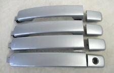 Oem 2007-2012 Nissan Altima Sentra Maxima Silver Exterior Door Handles Set Of 4